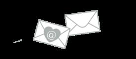 newsletter icons 2 enveloppes